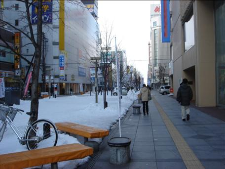 旭川のメインストリート.JPG