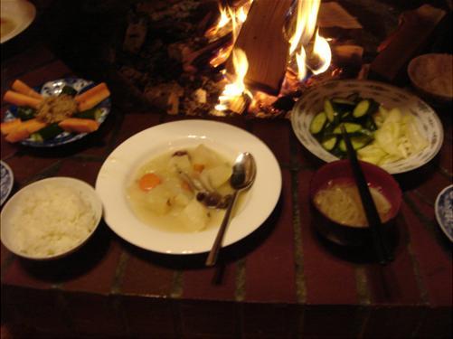 みんなで作った夕食.JPG