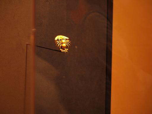 金のクモ.JPG