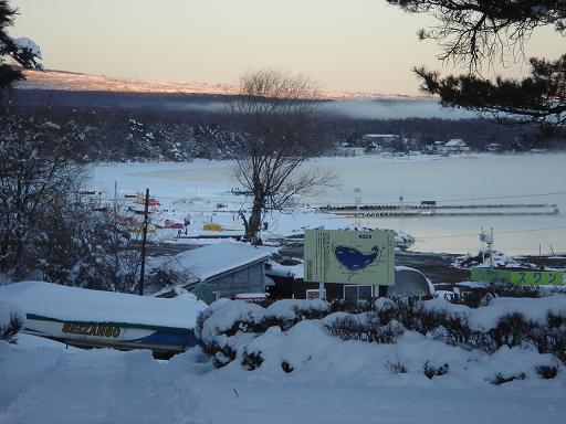 凍てつく山中湖.JPG