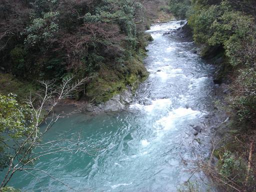 美しい安芸川の上流.JPG