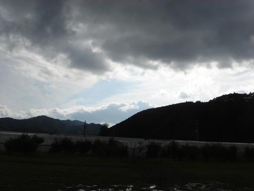 徐々に雲が切れて.JPG