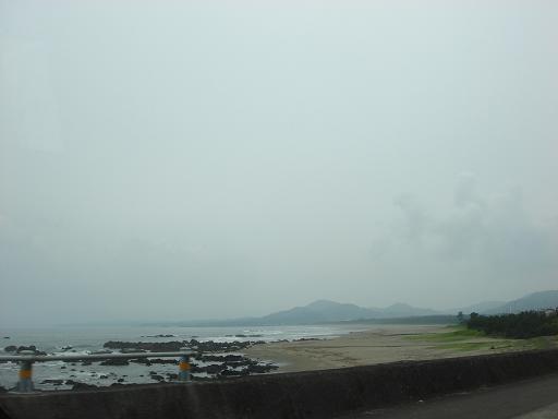 今日の黒潮町の海.JPG