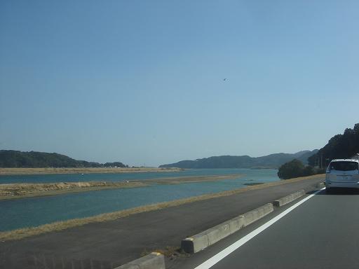 水の少ない四万十川.JPG