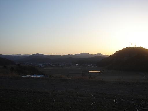大災害の夕方.JPG