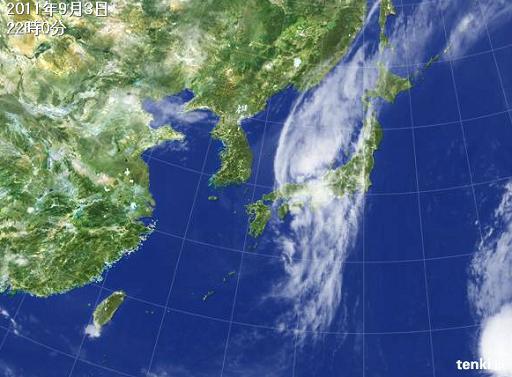 今日の気象衛星の写真.JPG