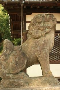狛犬様3吽