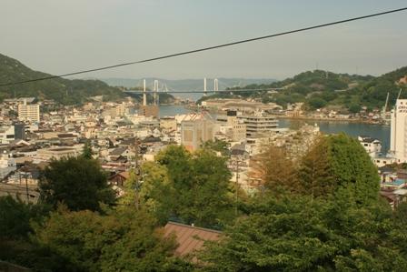 尾道大橋が見えた