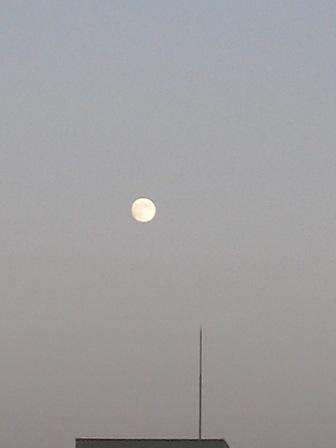 中秋の名月イブ