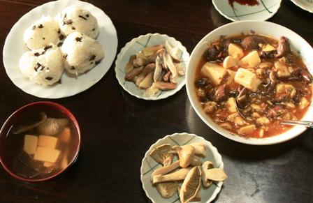 キノコ料理