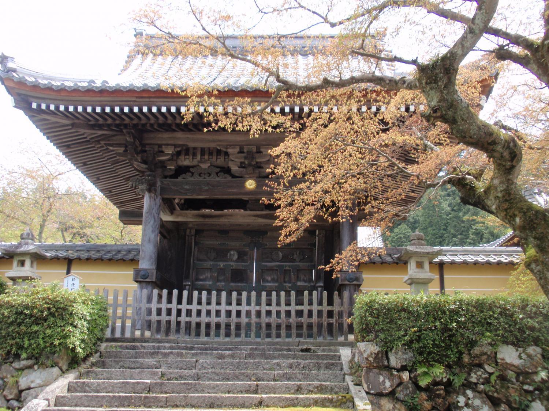 蓮華寺・勅使門