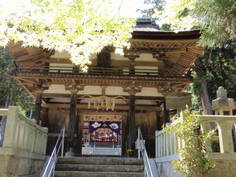 大野神社・楼門
