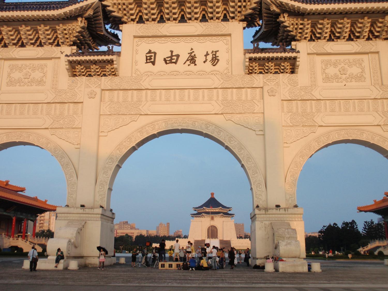 台北・中正記念堂
