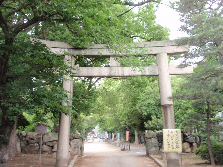 藤森神社・南門