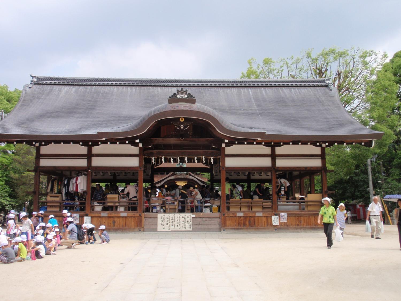藤森神社・拝殿
