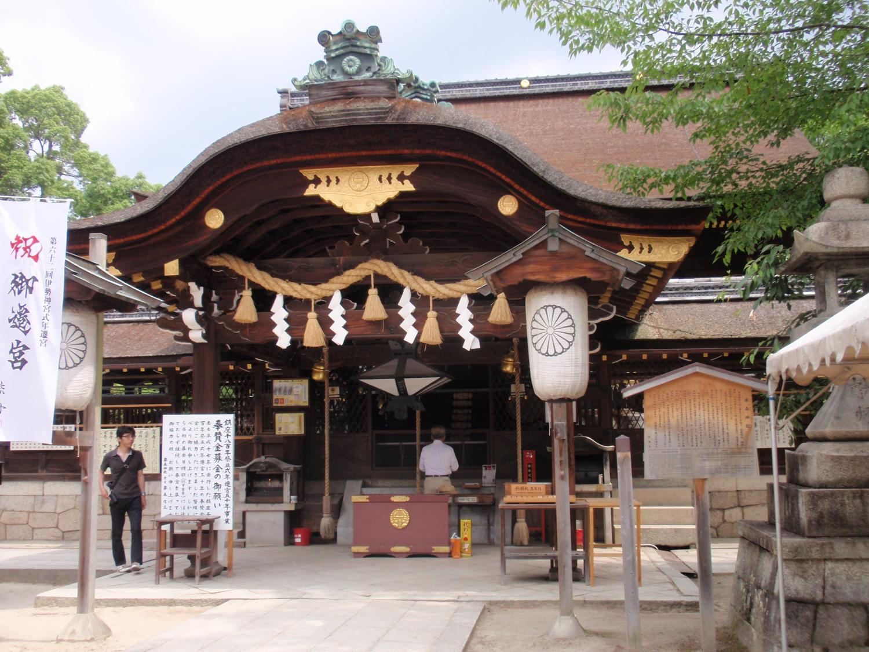 藤森神社・本殿