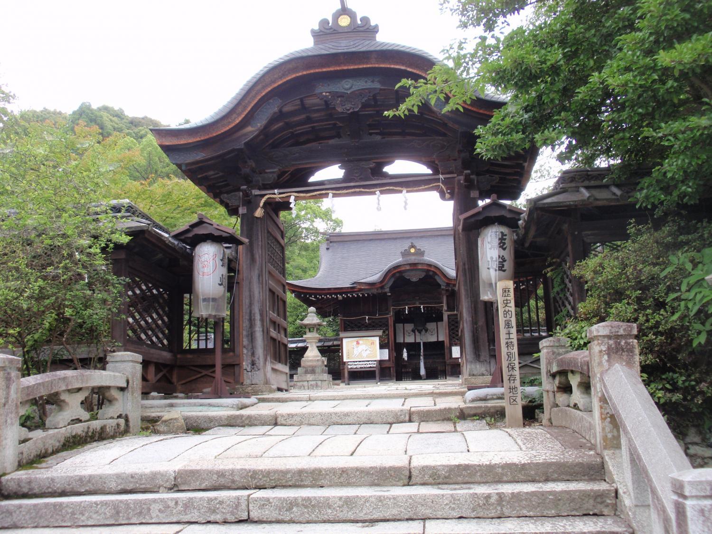 三尾神社・御門