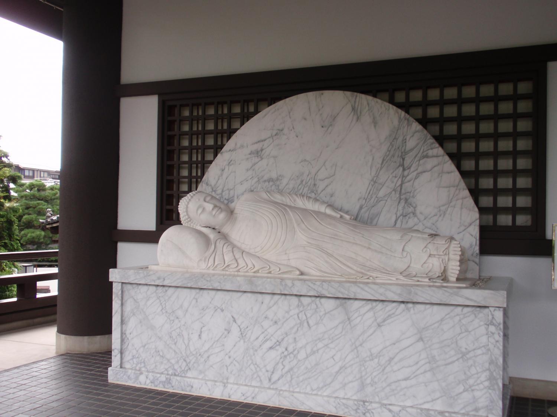 大雲院・涅槃像