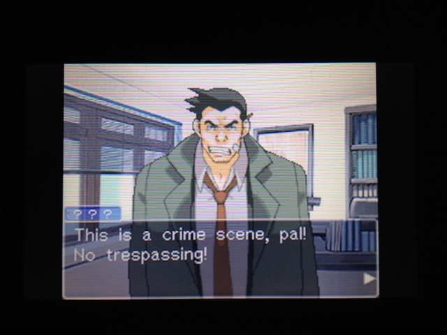 逆転裁判 北米版 探偵 ガムシュー3