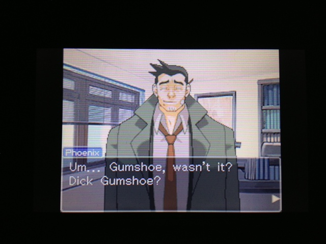 逆転裁判 北米版 探偵 ガムシュー6