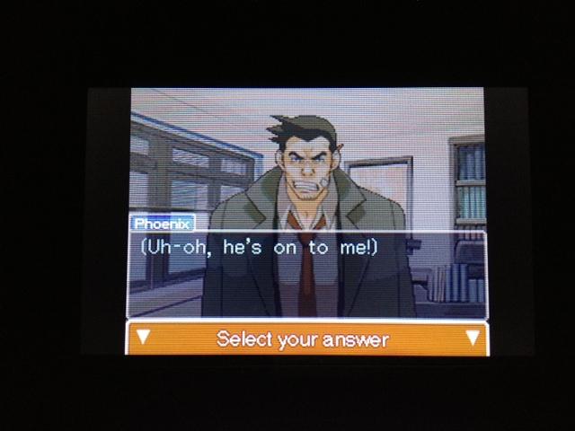 逆転裁判 北米版 探偵 ガムシュー22