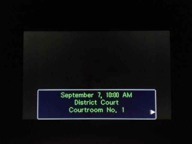 逆転裁判 北米版 マヤ法廷1