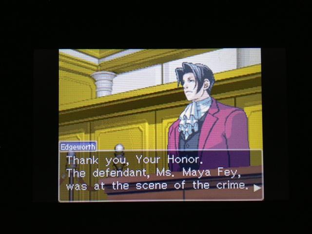 逆転裁判 北米版 マヤ法廷7