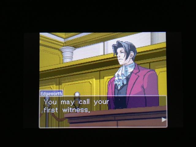 逆転裁判 北米版 マヤ法廷9