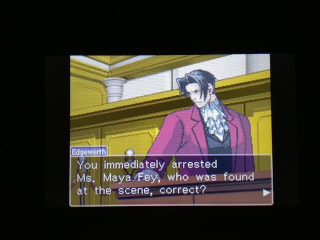 逆転裁判 北米版 マヤ法廷21