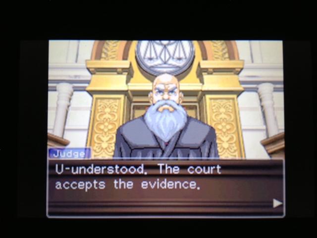 逆転裁判 北米版 マヤ法廷 ガムシュー証言78