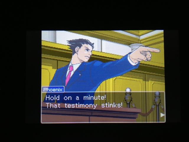 逆転裁判 北米版 マヤ法廷 エイプリル証言 34