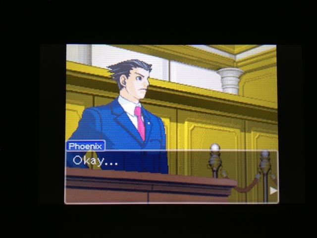 逆転裁判 北米版 マヤ法廷 エイプリル証言 38