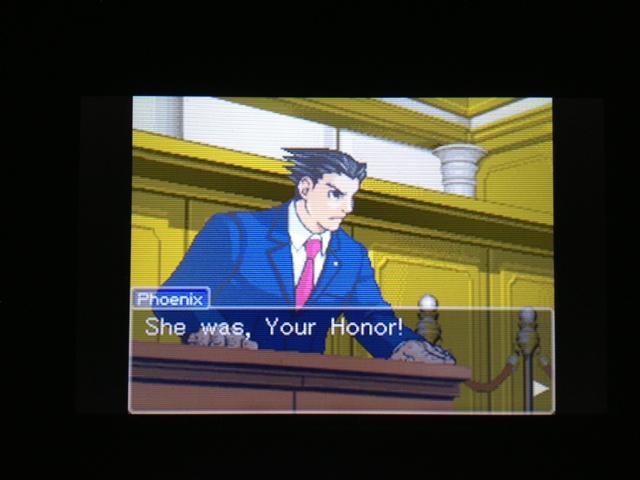 逆転裁判 北米版 マヤ法廷 エイプリル証言 45