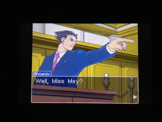逆転裁判 北米版 マヤ法廷 エイプリル証言 94