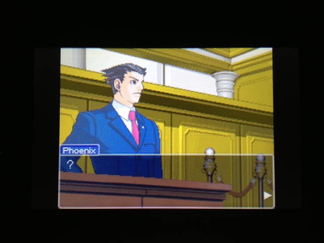 逆転裁判 北米版 マヤ法廷 エイプリル証言 96