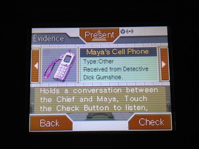 逆転裁判 北米版 マヤ法廷 エイプリル証言 111