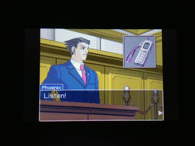 逆転裁判 北米版 マヤ法廷 エイプリル証言 116