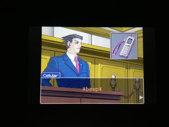 逆転裁判 北米版 マヤ法廷 エイプリル証言 125