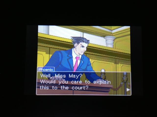 逆転裁判 北米版 マヤ法廷 エイプリル証言 128