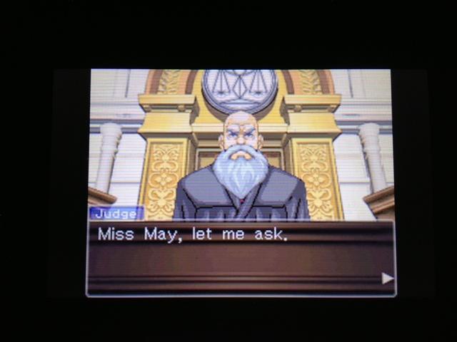 逆転裁判 北米版 マヤ法廷 エイプリル証言 152