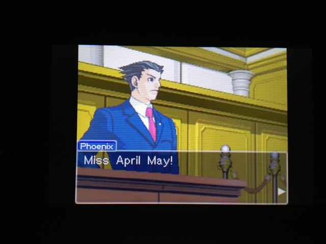逆転裁判 北米版 マヤ法廷 エイプリル証言 186