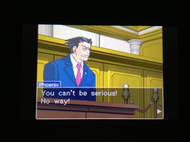 逆転裁判 北米版 マヤ法廷 エイプリル証言 212