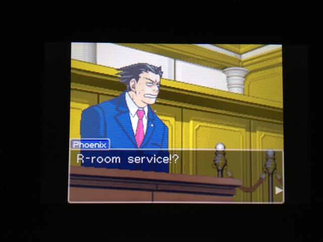 逆転裁判 北米版 マヤ法廷 エイプリル証言 217