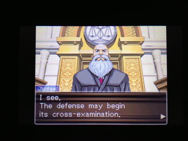 逆転裁判 北米版 マヤ法廷 ベルボーイ証言7