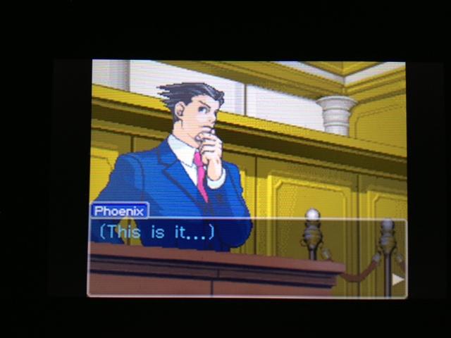 逆転裁判 北米版 マヤ法廷 ベルボーイ証言9