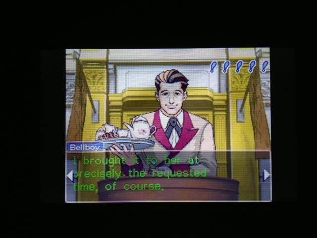 逆転裁判 北米版 マヤ法廷 ベルボーイ証言10