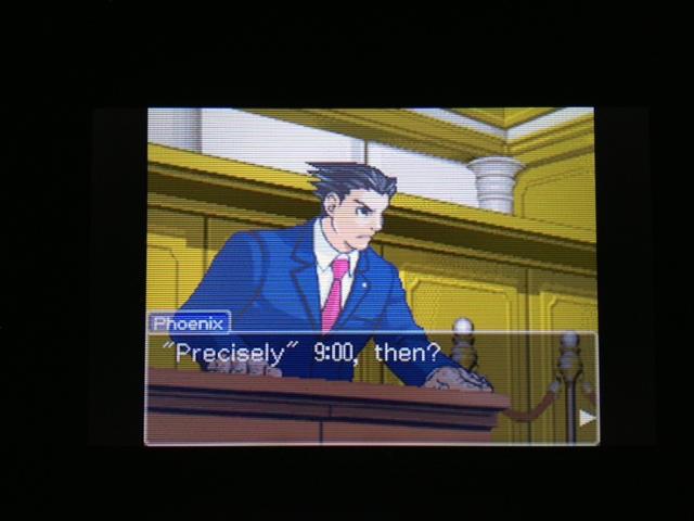 逆転裁判 北米版 マヤ法廷 ベルボーイ証言12