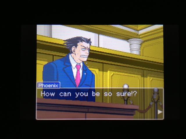 逆転裁判 北米版 マヤ法廷 ベルボーイ証言14