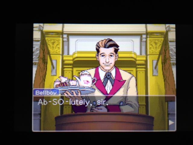 逆転裁判 北米版 マヤ法廷 ベルボーイ証言18