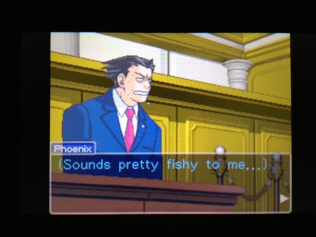 逆転裁判 北米版 マヤ法廷 ベルボーイ証言23